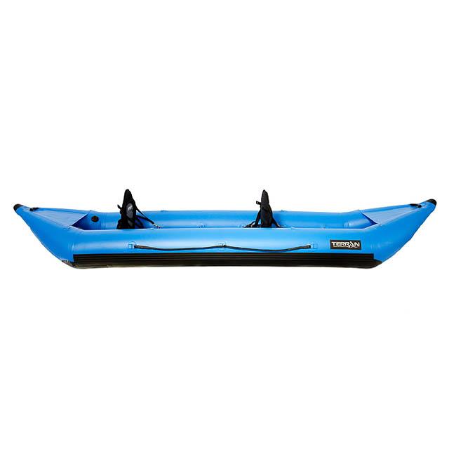 1-Pers Self-Bail Kayak w Drop-Stitch Floor – Terran